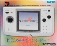 Neo Geo Pocket Color - Platinum Silver [NA] Box Art