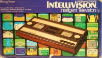 Mattel Electronics Intellivision Box Art