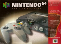 Nintendo 64 - Black [NA] Box Art