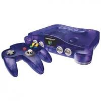 Nintendo 64 - Grape Purple Box Art
