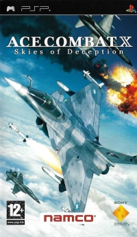 Ace Combat X: Skies of Deception [FR] Box Art