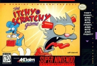 Itchy & Scratchy Game, The Box Art