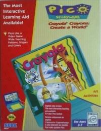 Crayola Crayons: Create A World Box Art