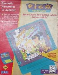 Smart Alex and Smart Alice: Curious Kids Box Art