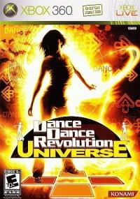 Dance Dance Revolution Universe Box Art