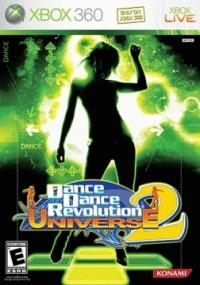 Dance Dance Revolution Universe 2 Box Art
