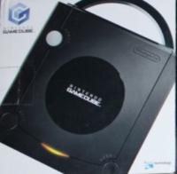Nintendo GameCube - Jet Black (DOL-001, Wavebird Image, Image Set 1) [CA] Box Art