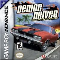 Demon Driver: Time to Burn Rubber! Box Art