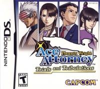 Phoenix Wright: Ace Attorney - Trials and Tribulations Box Art