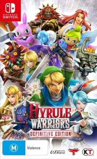Hyrule Warriors: Definitive Edition Box Art