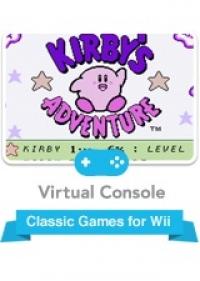 Kirby's Adventure Box Art