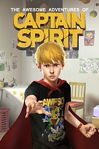 Awesome Adventures of Captain Spirit, The Box Art