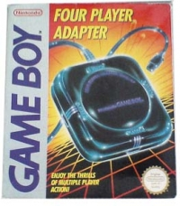 Game Boy Four Player Adapter [NA] Box Art