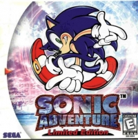 Sonic Adventure - Limited Edition Box Art