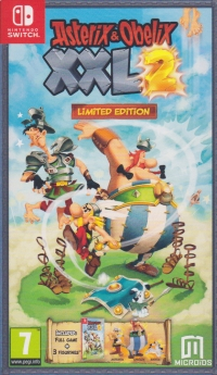 Asterix & Obelix XXL 2 - Limited Edition [UK] Box Art