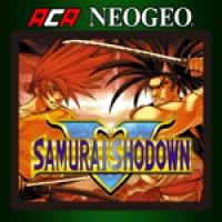 ACA NEOGEO Samurai Shodown V Box Art