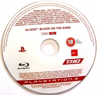 50 Cent: Blood On The Sand (Not for Resale) Box Art
