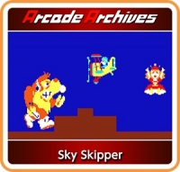 Arcade Archives Sky Skipper Box Art