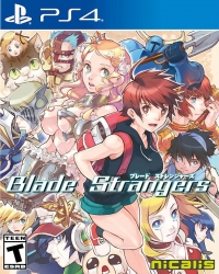 Blade Strangers Box Art