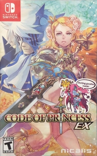 Code of Princess EX (Exciting Goodies Inside) Box Art