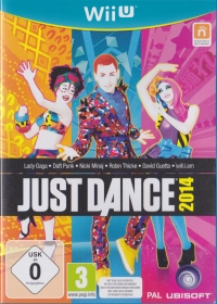 Just Dance 2014 (Not to be sold separately) Box Art