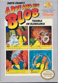 Boy and His Blob, A: Trouble on Blobolonia Box Art