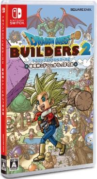 Dragon Quest Builders 2: Hakaishin Shidoo to Karappo no Shima Box Art