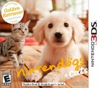 Nintendogs + Cats: Golden Retriever & New Friends Box Art