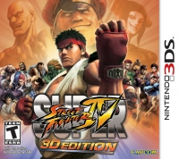 Super Street Fighter IV - 3D Edition Box Art
