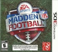 Madden NFL Football Box Art