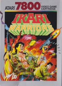 Ikari Warriors Box Art
