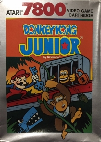 Donkey Kong Junior Box Art