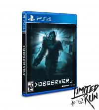 Observer (Strongarm cover) Box Art