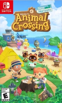 Animal Crossing: New Horizons Box Art