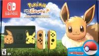 Nintendo Switch - Pokémon: Let's Go, Eevee! [NA] Box Art