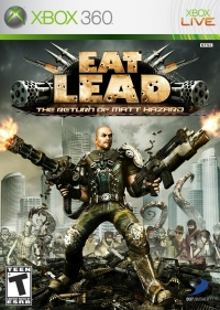 Eat Lead: The Return of Matt Hazard Box Art