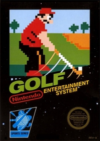 Golf Box Art