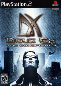 Deus Ex: The Conspiracy Box Art
