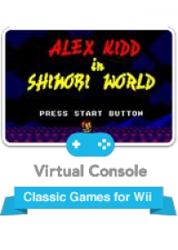 Alex Kidd in Shinobi World Box Art