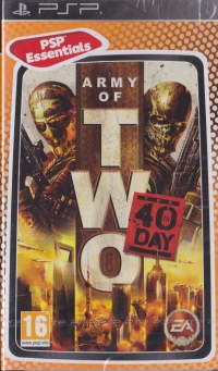 Army of Two: The 40th Day - PSP Essentials [PL][CZ][HU] Box Art