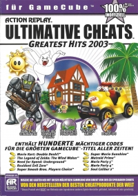Action Replay - Ultimative Cheats - Greatest Hits 2003 [DE] Box Art