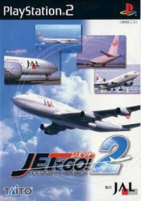 Jet de Go! 2: Let's Go by Airliner Box Art