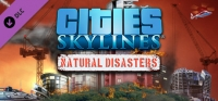 Cities: Skylines - Natural Disasters DLC Box Art