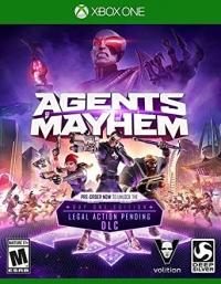 Agents of Mayhem - Day One Edition Box Art
