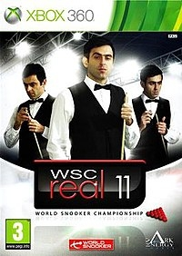 WSC Real 11: World Snooker Championship Box Art