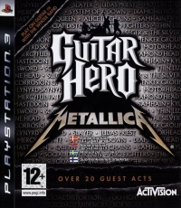 Guitar Hero: Metallica (Not for Resale) [DK][NO][SE][FI] Box Art