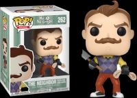 Funko POP! Games: Hello Neighbor - The Neighbor with Axe and Rope Box Art