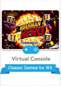 Bomberman Hero Box Art