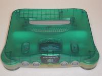 Nintendo 64 - Clear/Green [JP] Box Art