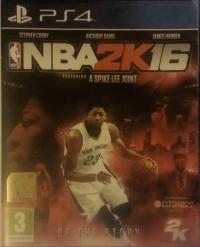 Nba 2k16 Anthony Davis Cover Playstation 4 Eu Vgcollect